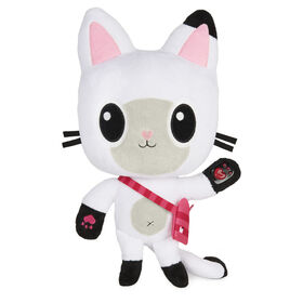 DreamWorks Gabby's Dollhouse, 13-inch Talking Pandy Paws Plush Toy with Lights, Music and 10 Sounds and Phrases