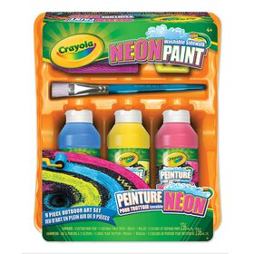 Crayola - Washable Neon Sidewalk Paint Kit