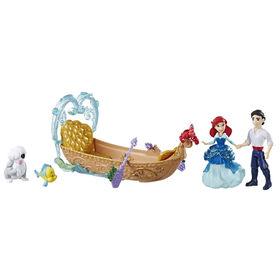 Disney Princess Evening Boat Ride, Ariel and Prince Eric Dolls