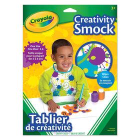 Tablier de créativité Crayola