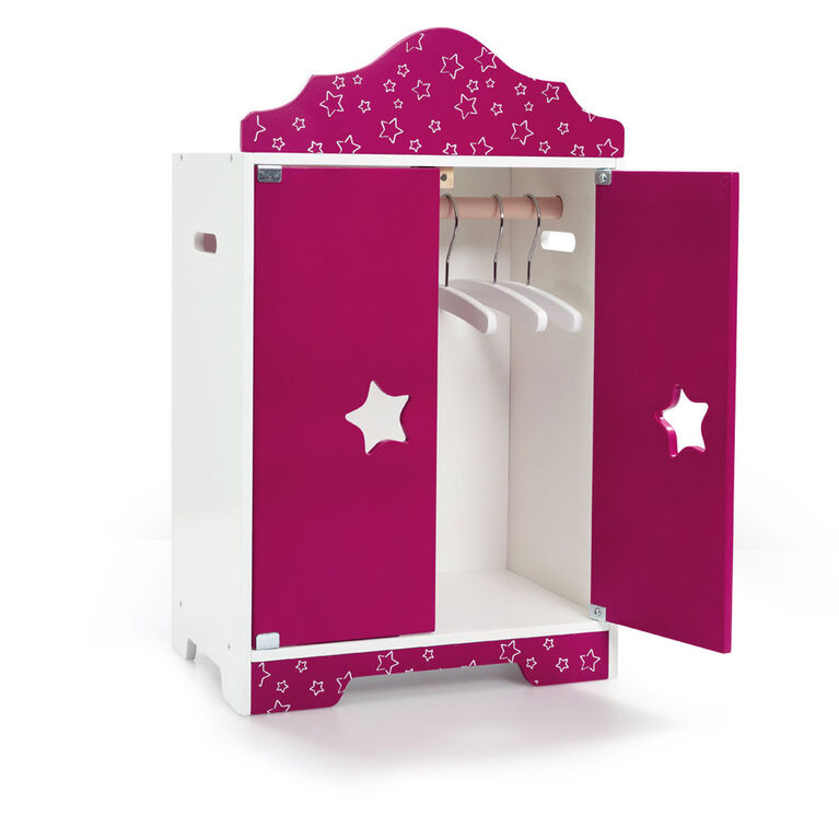 B Friends - Sweet Dreams Wooden Wardrobe - R Exclusive