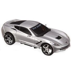 New Bright - 1:24 Scale Radio Control Sports Car - Corvette Stingray (Gray)