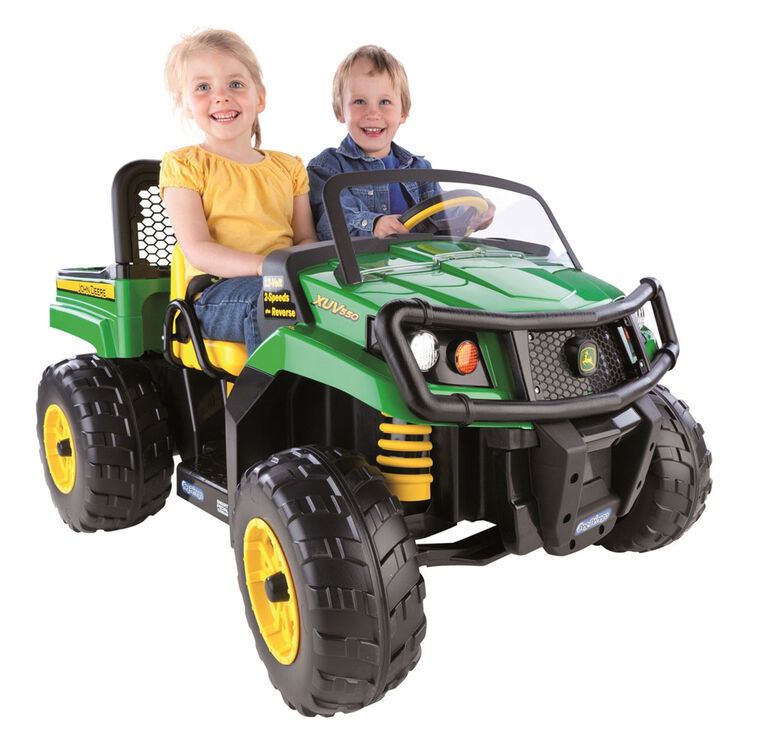 Battery Operated Ride On Toys >> Peg Perego John Deere Gator Xuv Battery Powered Ride On