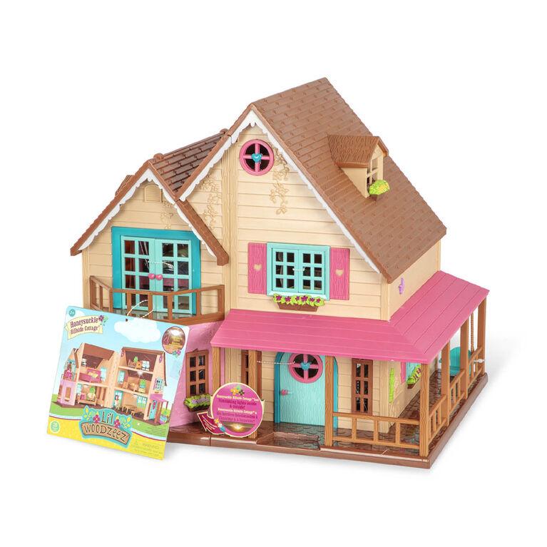 Honeysuckle Hillside Cottage, Li'l Woodzeez, Maison avec accessoires