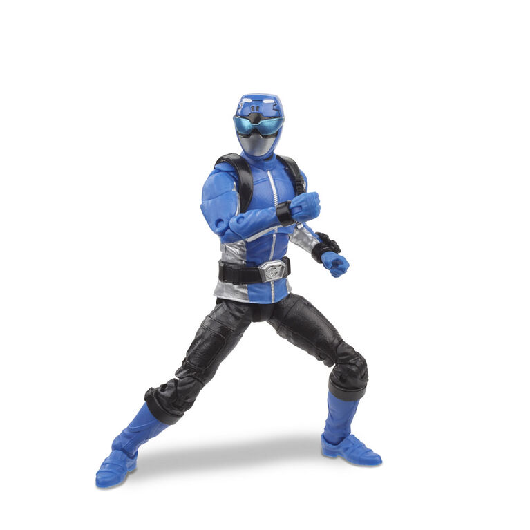 Power Rangers: 6-Inch Lightning Collection Collectible Blue Ranger