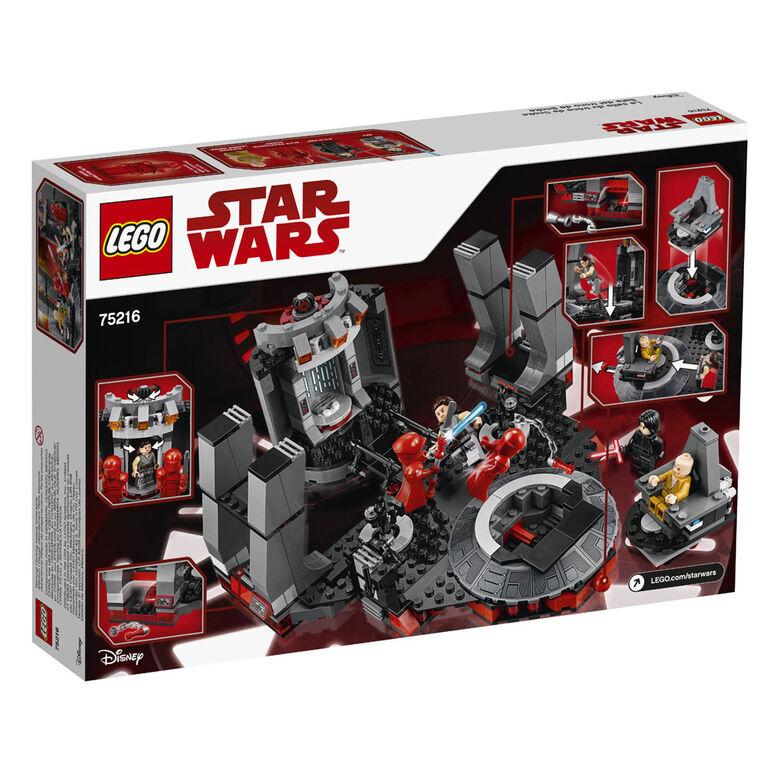 LEGO Star Wars TM Snoke's Throne Room 75216