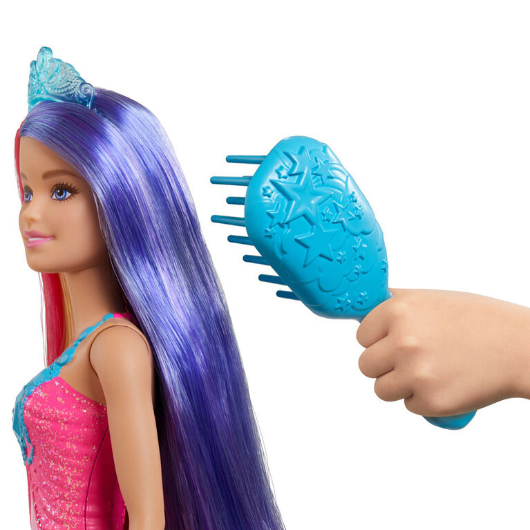Barbie Dreamtopia Princess Doll (11.5-inch) with Extra-Long Two-Tone Fantasy Hair