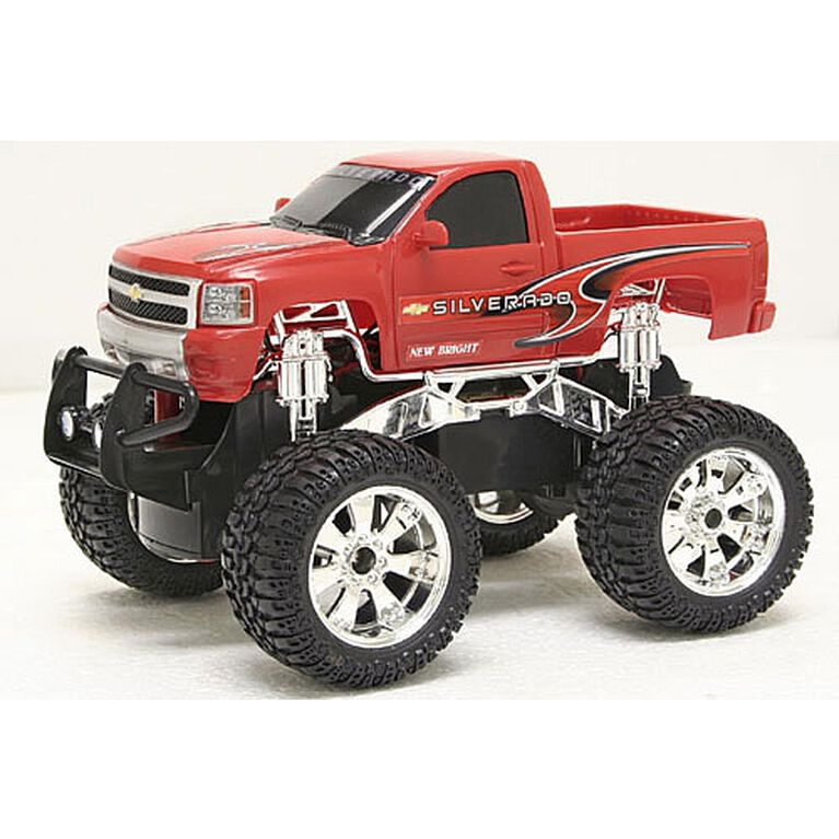 1:24 RC Off Road - Chevy Silverodo - Red