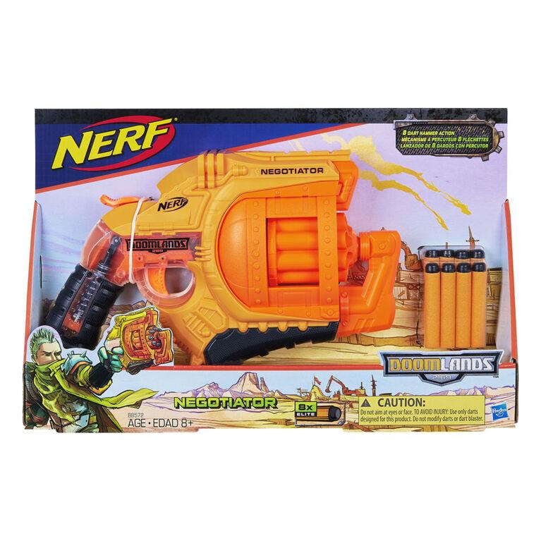 Negotiator Nerf Doomlands Toy Blaster with Hammer Action - R Exclusive