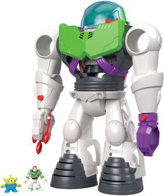 Imaginext Disney/Pixar Toy Story Coffret Robot Buzz l'Éclair