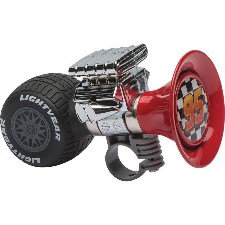 Pixar Disney - klaxon de vélo 3ans et plus en forme de moteur - Les Bagnoles