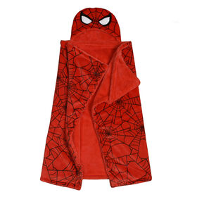 Nemcor - Marvel Spiderman Hooded Throw