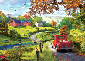 Eurographics Country Drive 1000 Piece Puzzle