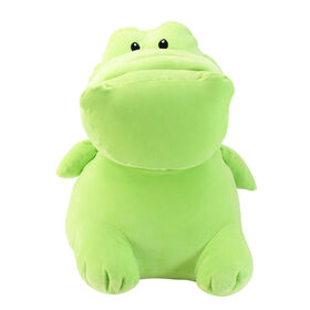 Animal Adventure Squeeze with Love - Jumbo Plush Alligator - Green
