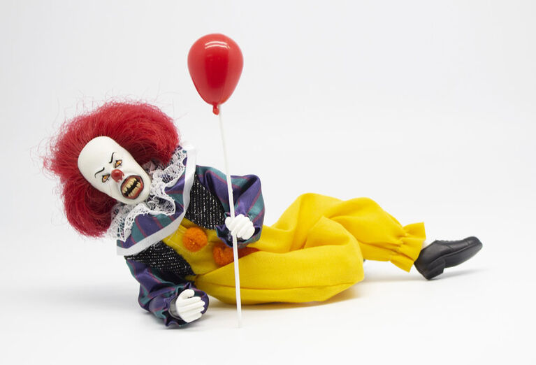 Mego Figures - It - Pennywise - English Edition