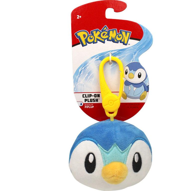 Pokémon Clip-On Plush - Piplup Head - English Edition
