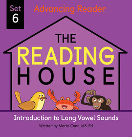 The Reading House Set 6: Introduction to Long Vowel Sounds - Édition anglaise