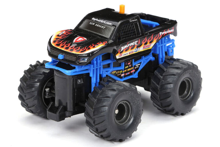 New Bright R/C-Hot Wheels-Bigfoot/Black/1:43