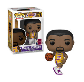 Figurine en Vinyle Magic Johnson par Funko POP! NBA Légendes