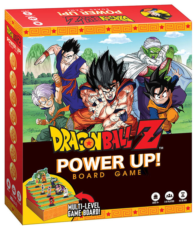Dragon Ball Z Power Up! Board Game