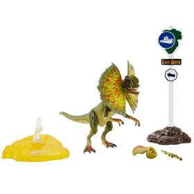 JURASSIC WORLD COLLECTION AMBRE Dilophosaurus