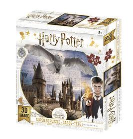 Harry Potter - Hogwarts & Hedwig 300pc