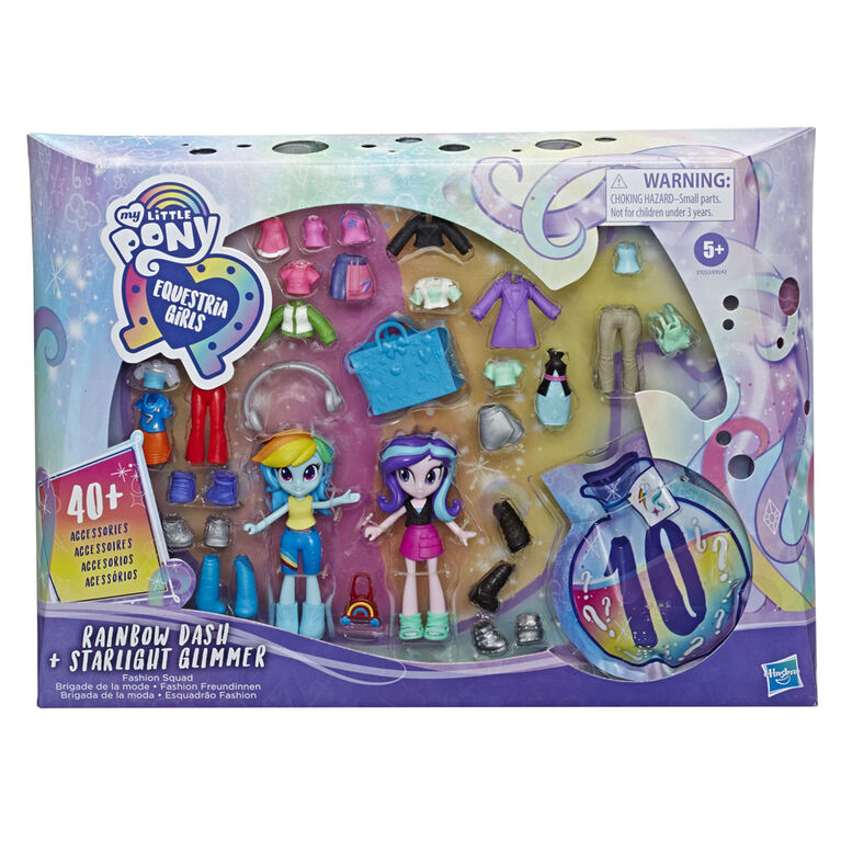 My Little Pony Equestria Girls, Brigade de la mode Rainbow Dash et Starlight - R Exclusif