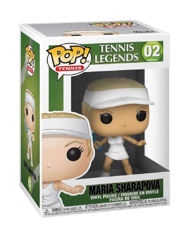 Figurine en Vinyle Maria Sharapova par Funko POP! Tennis Legends
