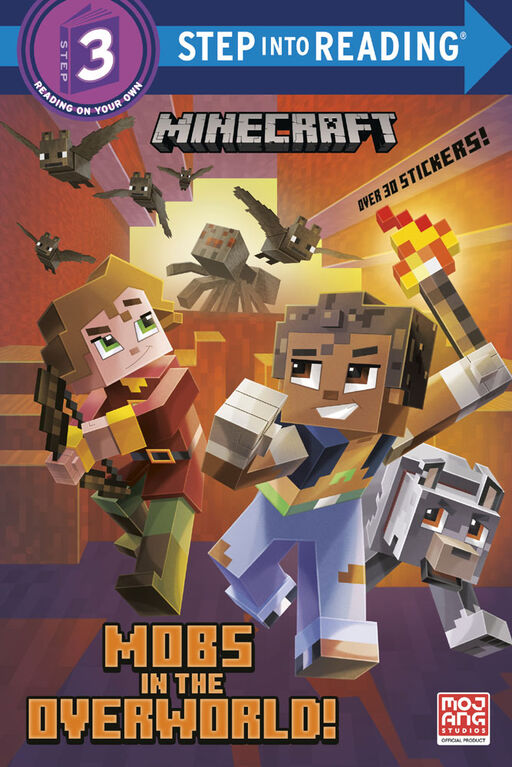 Mobs in the Overworld! (Minecraft) - Édition anglaise