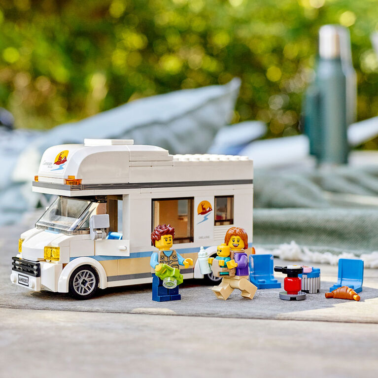 LEGO City Great Vehicles Holiday Camper Van 60283