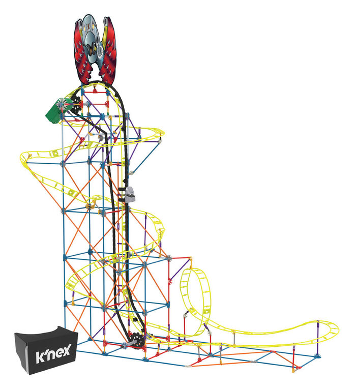 Vulture's Vengeance Roller Coaster Building Set