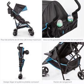 Summer Infant 3Dmini Convenience Stroller - Blue