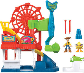 Fisher-Price Imaginext Playset Featuring Disney/Pixar Toy Story Carnival