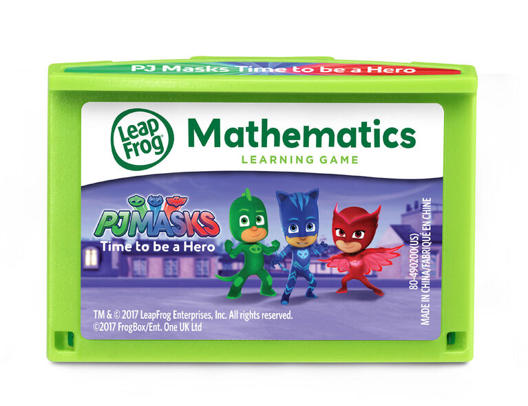 LeapPad™ PJ Masks Time to Be a Hero Learning Game - English Edition