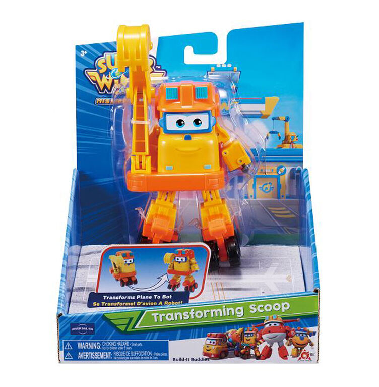 Super Wings - Scoop transformable - Édition anglaise