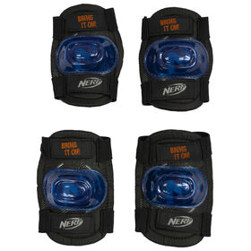 Flybar NERF Safety Gear Set Multi-Sport Safety Gear for Kids, Teens, Adults (Medium)