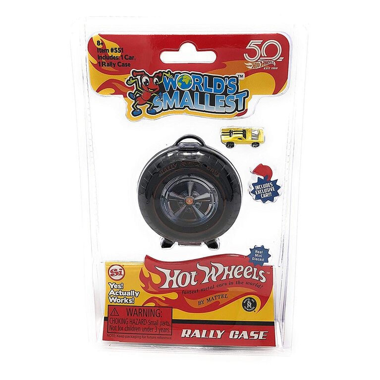 World's Smallest Hot Wheels - Étui Rallye.