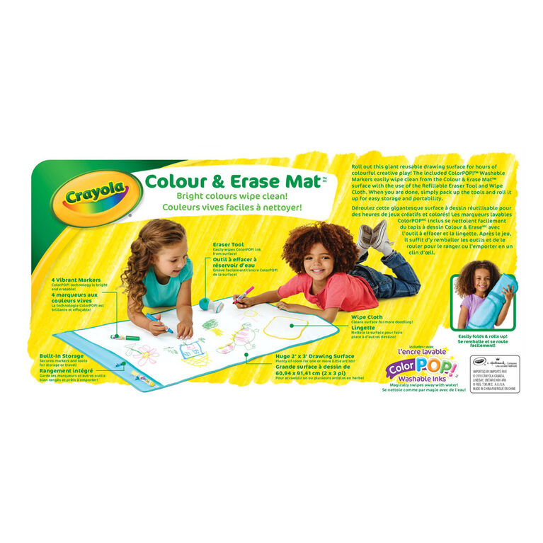 Colour & Erase Mat