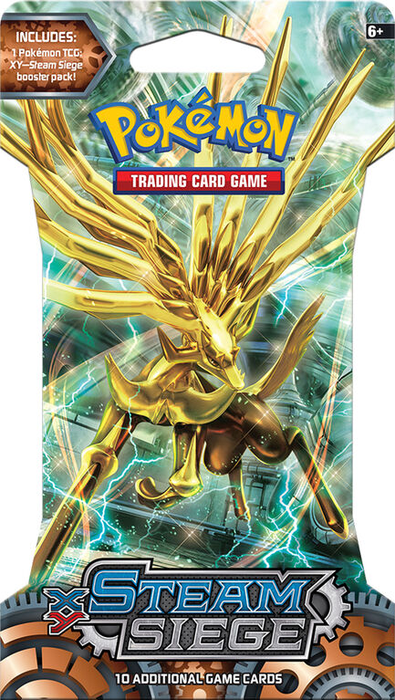 "Pokemon TCG: XY11 ""Steam Siege"" Blister"