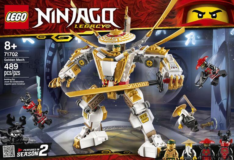 LEGO Ninjago Golden Mech 71702