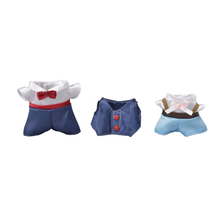 Calico Critters Town Series Dress Up Set (Navy & Light Blue)