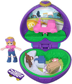 Polly Pocket - Petit Monde minuscule - Polly et Pêches