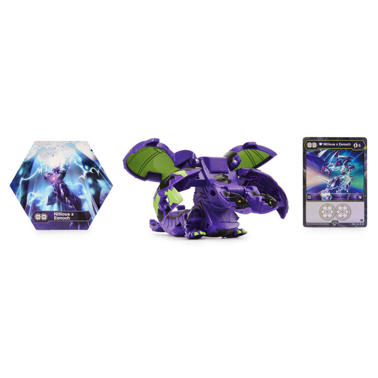 Bakugan Deka, Fused Nillious x Eenoch, Jumbo Collectible Transforming Figure