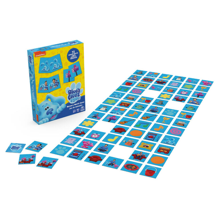 Blue's Clues Memory Match Game