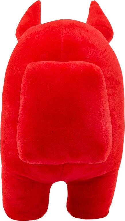 """Among Us 12"""" Plush - Red With Horns"""