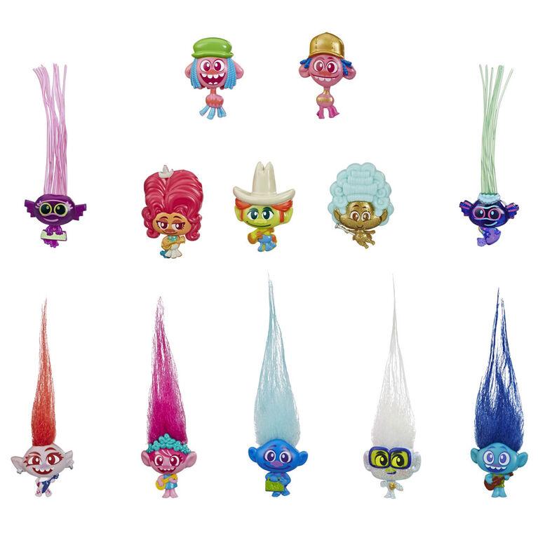 DreamWorks Trolls World Tour Tiny Dancers Collectible Figures