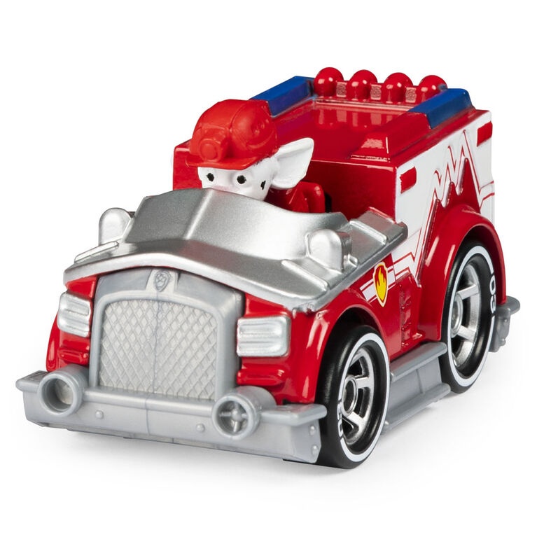 PAW Patrol, True Metal Marshall Collectible Die-Cast Vehicle, Classic Series 1:55 Scale
