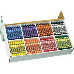 Classpack - 400 crayons de cire grand format