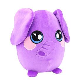 Squeezamals de luxe - Éléphant violet