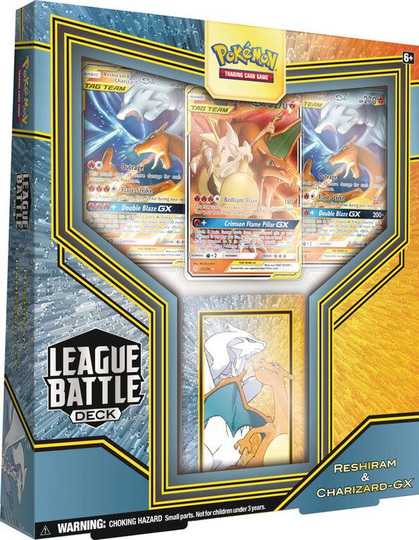 Pokemon Reshiram & Charizard-Gx League Battle Deck